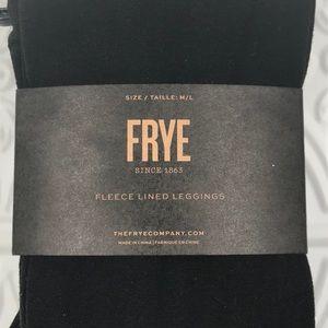 FRYE Fleece Lined Leggings Bamboo Blend